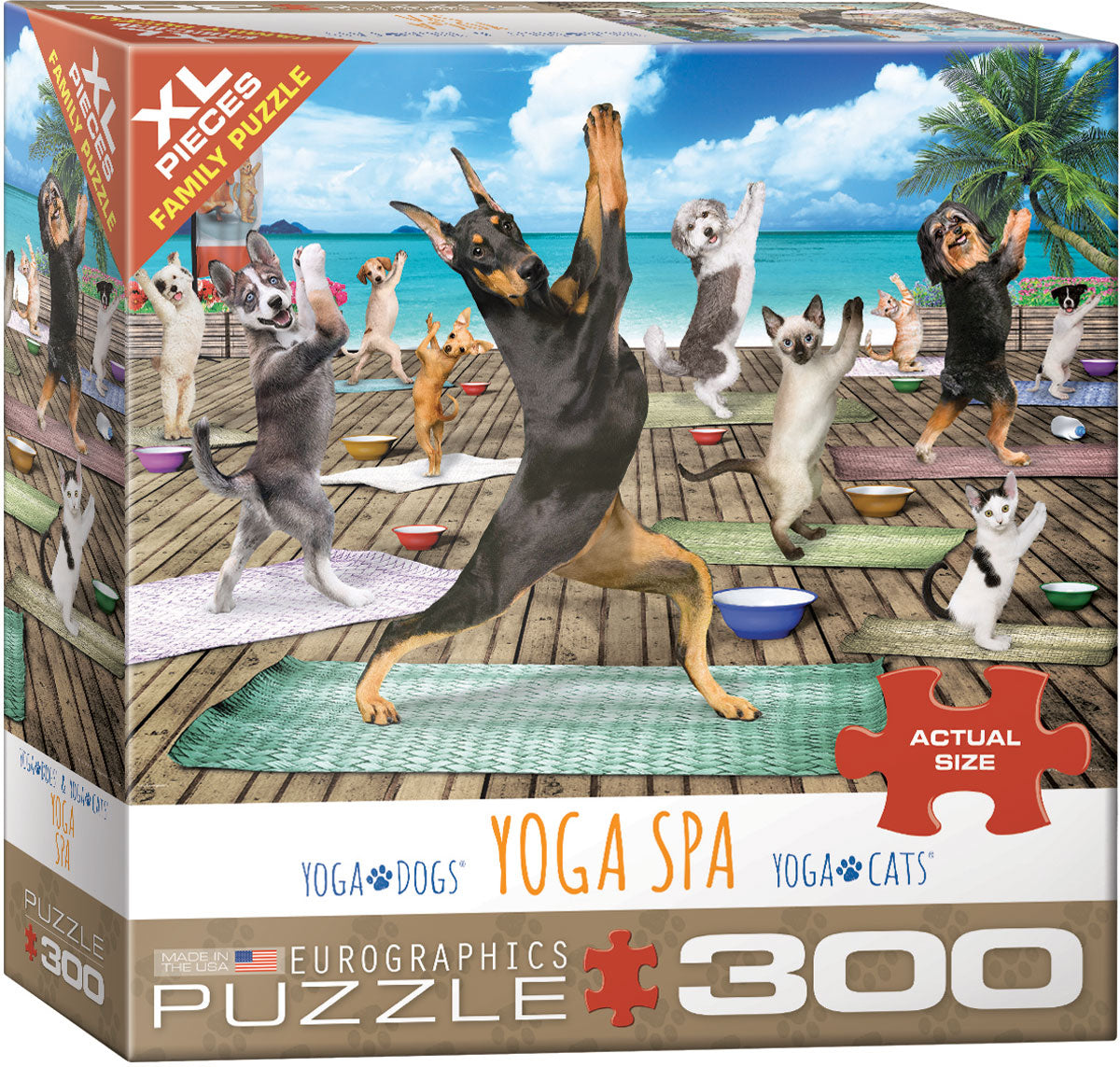 Yoga Spa 300 Piece Puzzle - Quick Ship - Puzzlicious.com