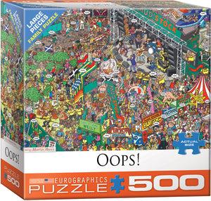 Oops! 500 Piece Puzzle - Quick Ship