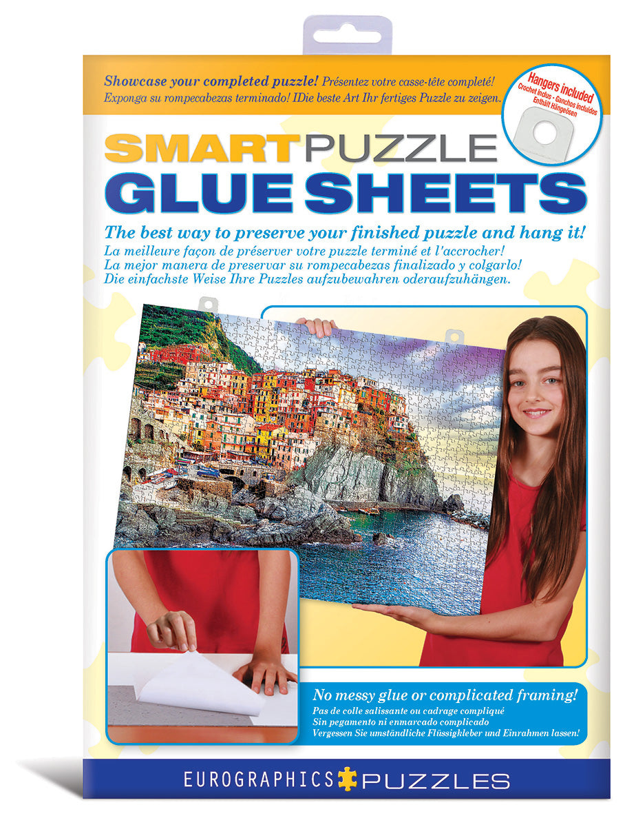 Smart Puzzle Glue Sheets - Quick Ship - Puzzlicious.com
