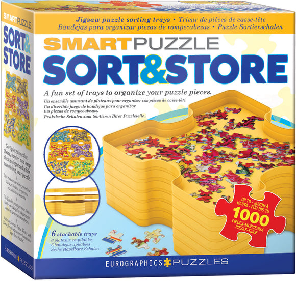 Smart Puzzle Sort & Store Tray Set - Quick Ship - Puzzlicious.com