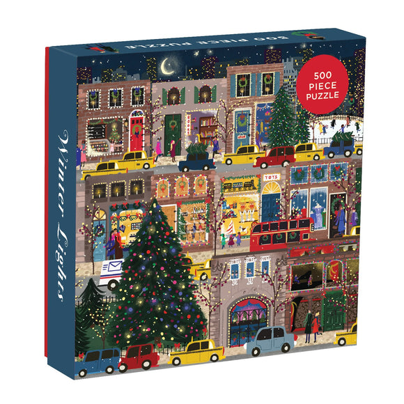 Winter Lights 500 Piece Puzzle - Quick Ship