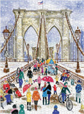 Michael Storrings Brooklyn Bridge 1000 Piece Puzzle - Quick Ship