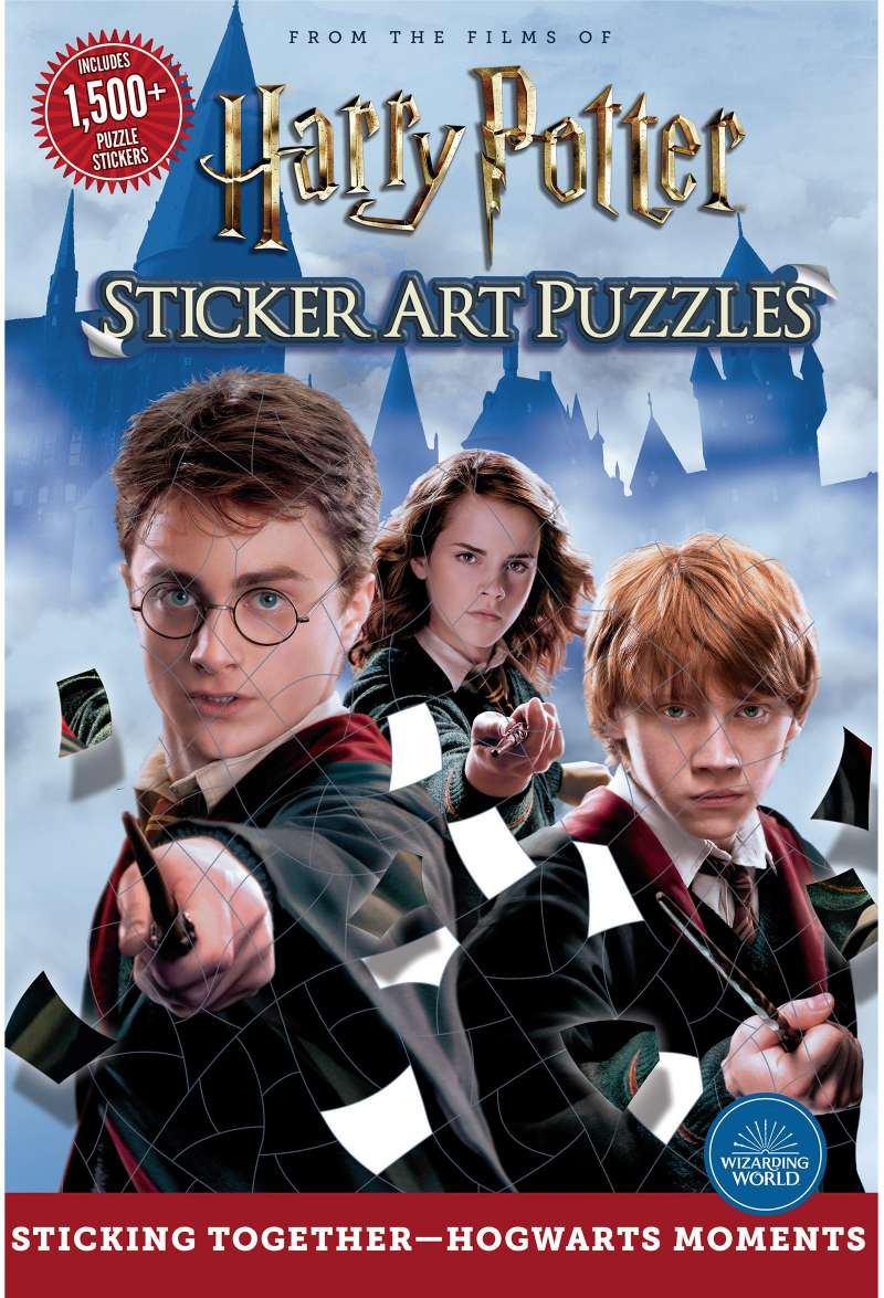 Harry Potter Sticker Art Puzzle Book - Quick Ship - Puzzlicious.com