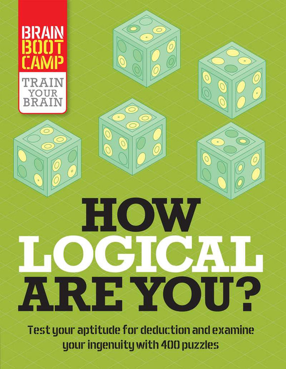 How Logical Are You? - Train Your Brain Puzzles Book - Quick Ship - Puzzlicious.com