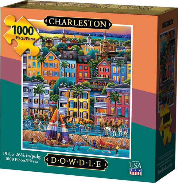 Charleston 1000 Piece Puzzle - Quick Ship - Puzzlicious.com