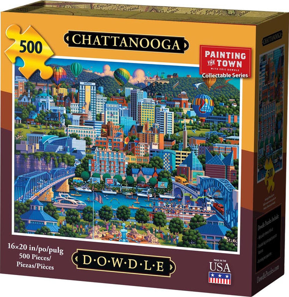 Chattanooga 500 Piece Puzzle - Quick Ship - Puzzlicious.com