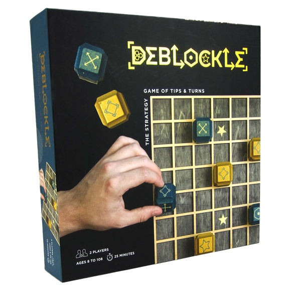 Deblockle - The Strategy Game of Tips and Turns - Quick Ship - Puzzlicious.com