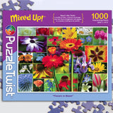 Flowers in Bloom 1000 Piece Puzzle Twist Jigsaw Puzzle - Quick Ship - Puzzlicious.com