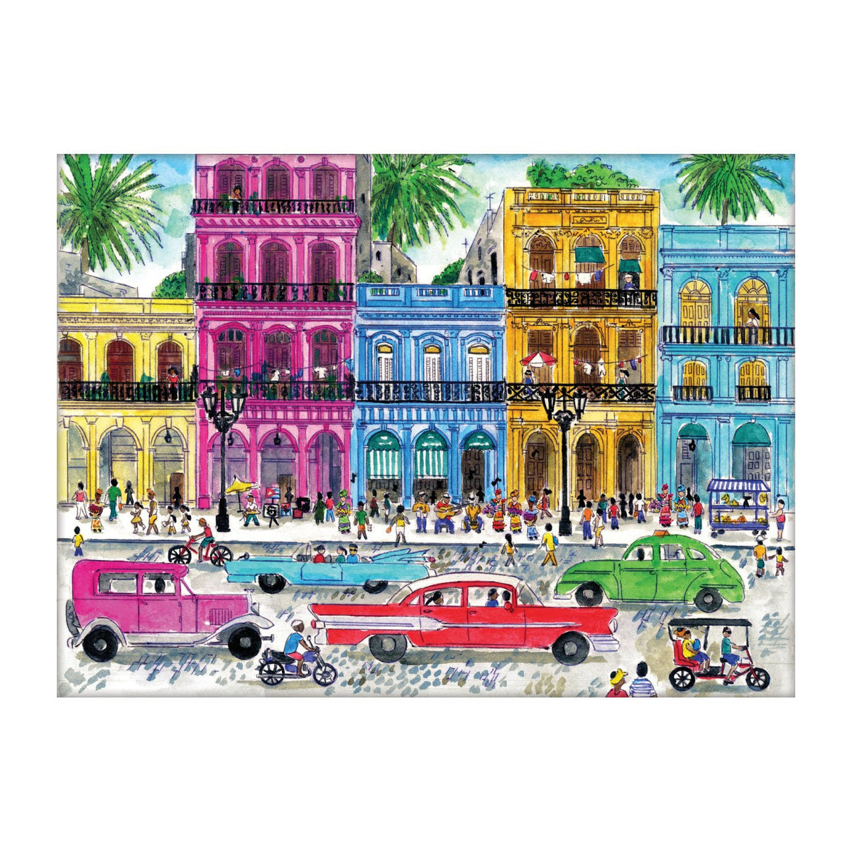 Michael Storrings Cuba 1000 Piece Puzzle - Quick Ship - Puzzlicious.com