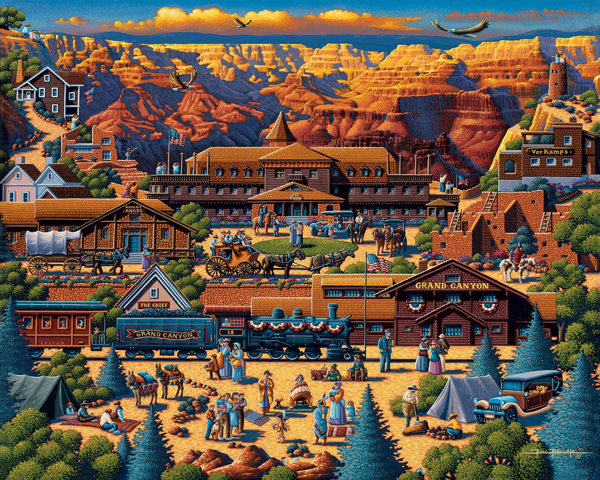 Grand Canyon 500 Piece Puzzle - Quick Ship - Puzzlicious.com