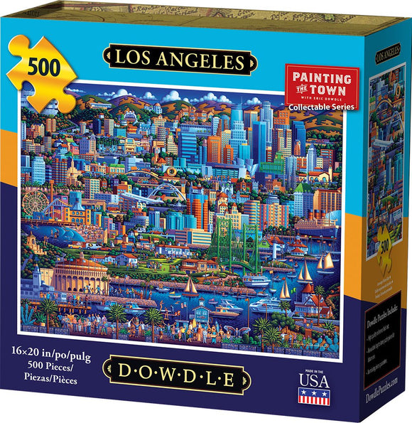 Los Angeles 500 Piece Puzzle - Quick Ship - Puzzlicious.com