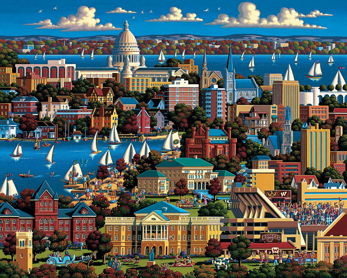 Madison 500 Piece Puzzle - Puzzlicious.com