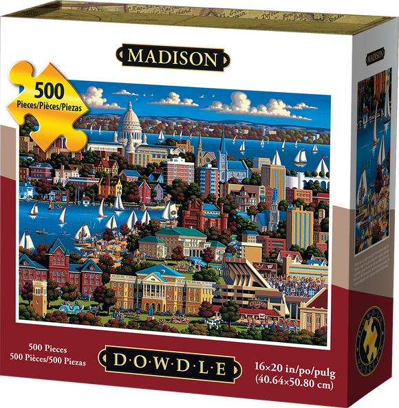Madison 500 Piece Puzzle - Quick Ship - Puzzlicious.com