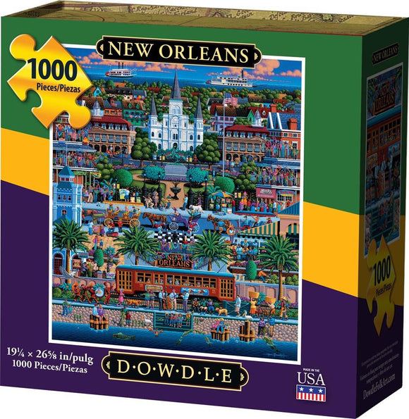 New Orleans 500 Piece Puzzle - Quick Ship - Puzzlicious.com
