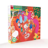 Eating Outside 1000 Piece Puzzle - Quick Ship - Puzzlicious.com