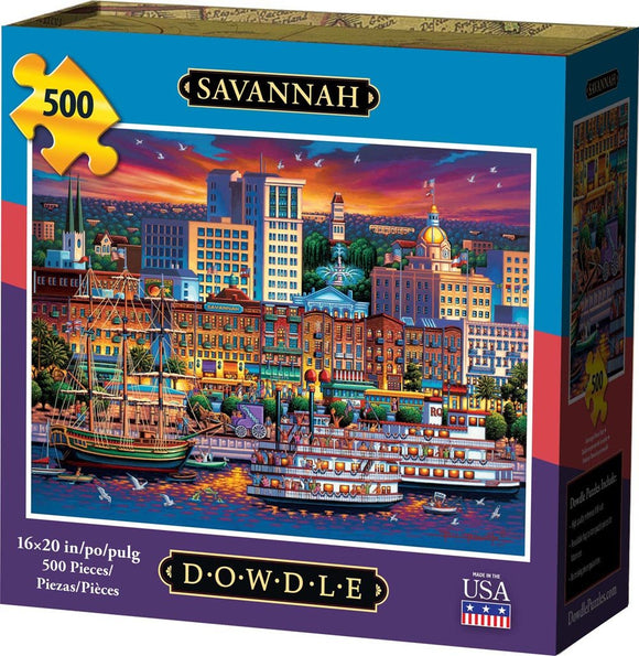 Savannah 500 Piece Puzzle - Quick Ship - Puzzlicious.com