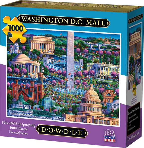 Washington D.C. Mall 1000 Piece Puzzle - Quick Ship - Puzzlicious.com