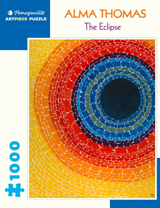 Alma Thomas: The Eclipse 1000 Piece Jigsaw Puzzle - Quick Ship - Puzzlicious.com