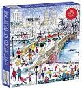 Michael Storrings Bow Bridge in Central Park 500 Piece Puzzle - Quick Ship