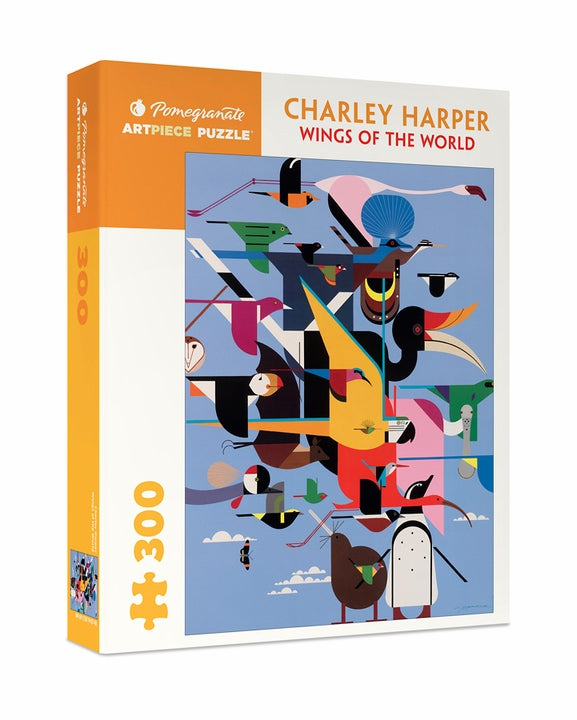 Charlie Harper: Wings of the World 300 Piece Jigsaw Puzzle - Quick Ship - Puzzlicious.com