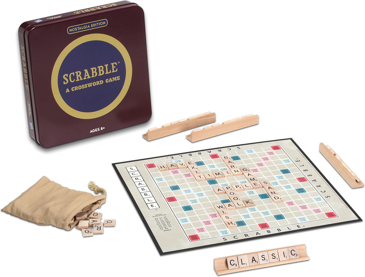 Scrabble - Nostalgia Tin - Quick Ship - Puzzlicious.com