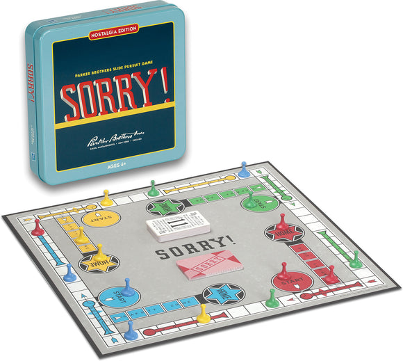 Sorry - Nostalgia Tin - Quick Ship - Puzzlicious.com