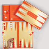 Frank Lloyd Wright Backgammon Set - Quick Ship - Puzzlicious.com