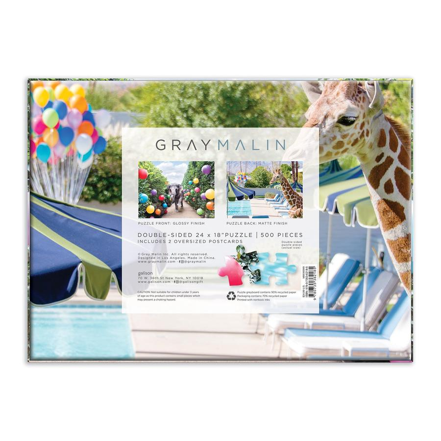Gray Malin at the Parker Double-Sided 500 Piece Jigsaw Puzzle - Quick Ship - Puzzlicious.com