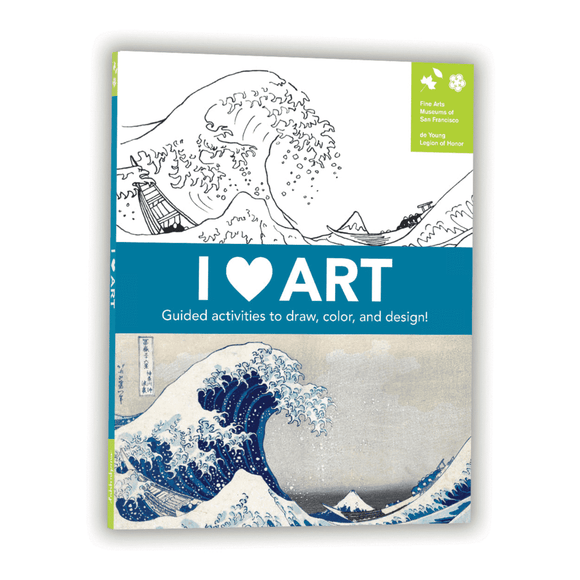 I Heart Art Activity Book - Quick Ship
