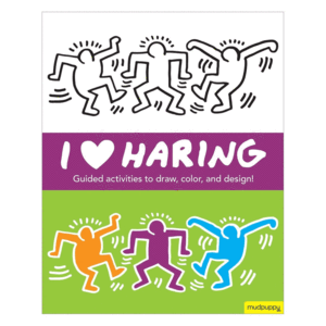 I Heart Haring Activity Book - Quick Ship