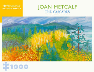 Joan Metcalf: The Cascades 1000 Piece Jigsaw Puzzle - Quick Ship - Puzzlicious.com