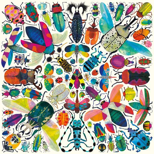 Kaleido Beetles 500 Piece Puzzle - Quick Ship - Puzzlicious.com