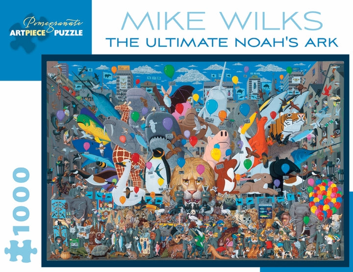 Mike Wilks: The Ultimate Noah's Ark 1000 Piece Jigsaw Puzzle - Quick Ship - Puzzlicious.com