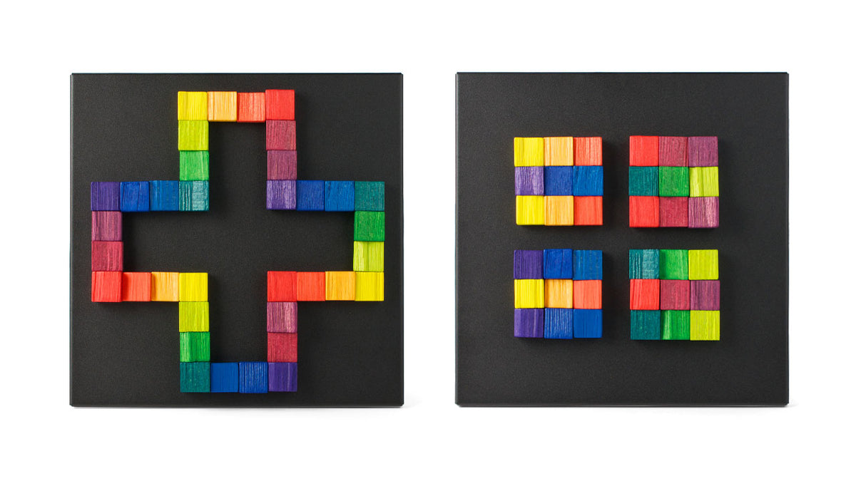 Playable ART Magnet Relief - Square - Puzzlicious.com