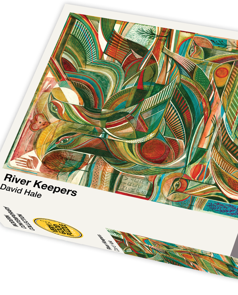 David Hale's River Keepers 1000 Piece Jigsaw Puzzle - Quick Ship - Puzzlicious.com