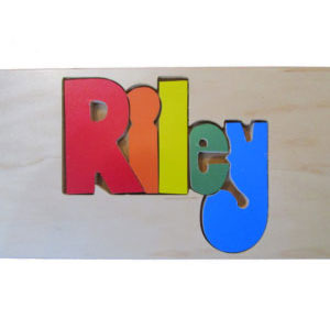 Wooden Name Puzzles - Puzzlicious.com