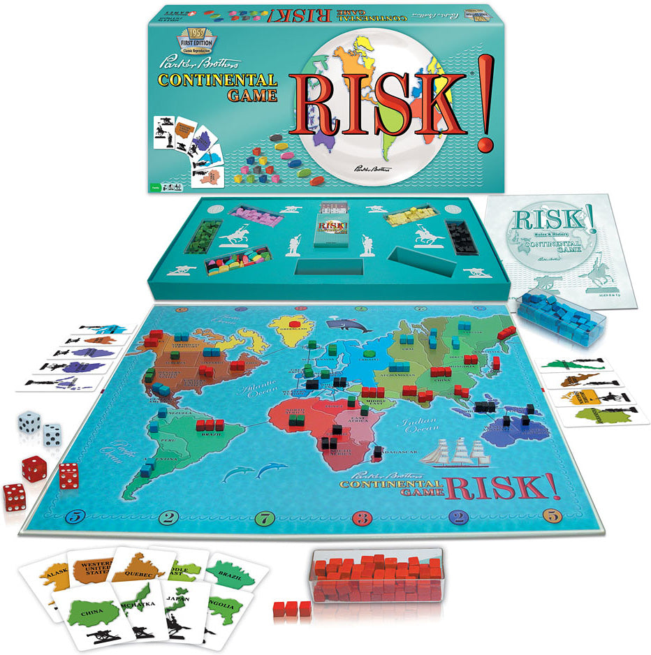 Risk 1959 - Quick Ship - Puzzlicious.com