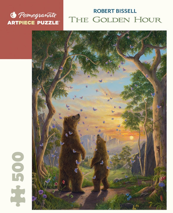Robert Bissell: The Golden Hour 500 Piece Jigsaw Puzzle - Quick Ship - Puzzlicious.com