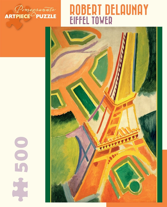Robert Delaunay: Eiffel Tower 500 Piece Jigsaw Puzzle - Quick Ship - Puzzlicious.com
