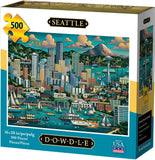I Love Seattle 1000 Piece Puzzle - Quick Ship - Puzzlicious.com