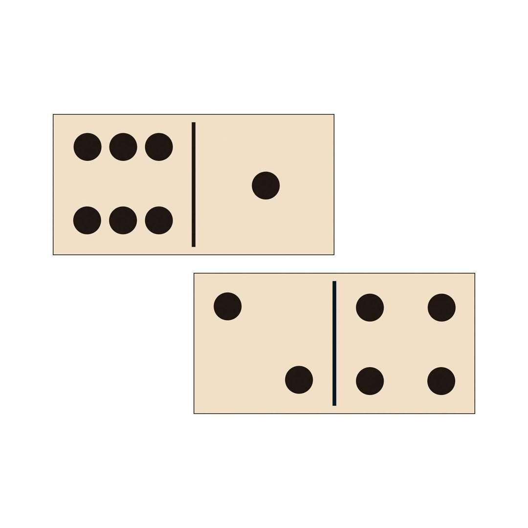 The Patterns of Frank Lloyd Wright Wooden Dominoes Set - Quick Ship - Puzzlicious.com