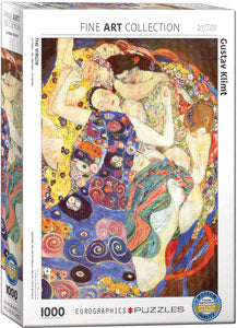 Klimt's The Virgin 1000 Piece Puzzle - Quick Ship - Puzzlicious.com