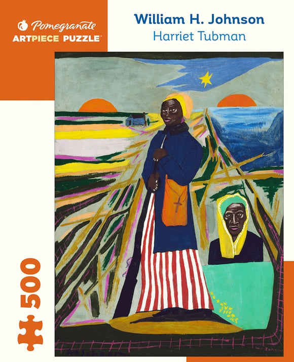 William H. Johnson: Harriet Tubman 500 Piece Jigsaw Puzzle - Quick Ship - Puzzlicious.com