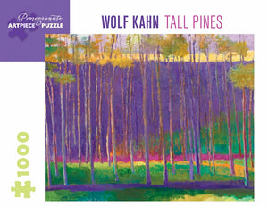 Wolf Kahn: Tall Pines 1000 Piece Jigsaw Puzzle - Quick Ship