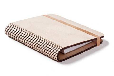 "Personalized ""Living Hinge"" Note Books"