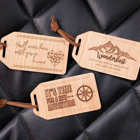 Baggage Tags - Laser Cut Crafts