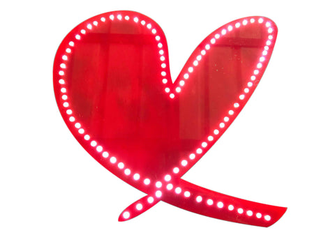 Love Heart Light Signs - Laser Cut Crafts