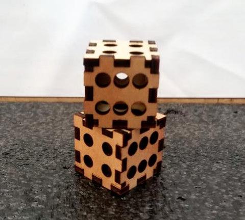 Dice Set - Laser Cut Crafts