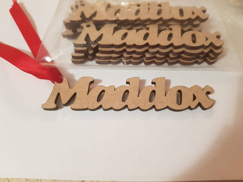 Name Tags - Laser Cut Crafts