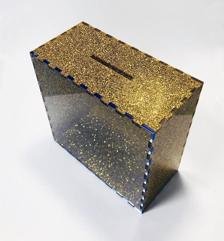 Glitter Money Boxes - Laser Cut Crafts